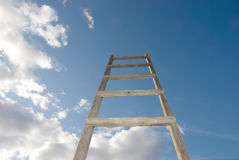 Stairs in the sky Stock Image
