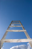 Stairs in the sky stock photo