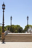Stairs in Spain Square Royalty Free Stock Image