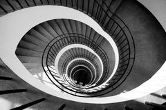 Stairs spiral Royalty Free Stock Image