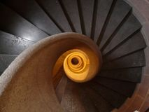 Stairs, Spiral Staircase, Emergence Stock Photography