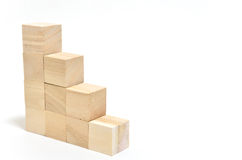 Stairs of square blocks. Stock Photo