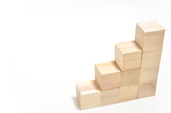 Stairs of square blocks. Stock Images