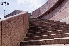 Stairs in St.Petersburg Royalty Free Stock Photo