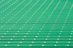 Stairs at a Stadium. Stairs lead to the upper levels at a stadium Royalty Free Stock Image