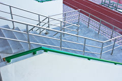 Stairs into the stadium Stock Image