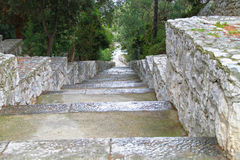 Stairs of stone Royalty Free Stock Photography