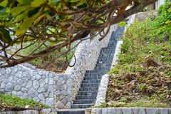 Stairs stone Royalty Free Stock Images