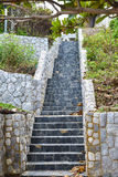 Stairs stone. The stairs stone in Thailand Stock Photos
