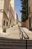 Stairs - street in Felanitx Royalty Free Stock Photo