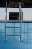 Stairs swimming pool dry. Royalty Free Stock Photos