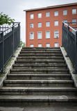 Stairs to an apartment block Stock Photography
