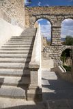 Stairs to aqueduct Royalty Free Stock Photography