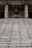 Stairs to asian temple Royalty Free Stock Image