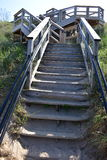 Stairs to the Beach at Tunnel Park Stock Image