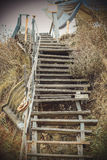 Stairs to the beach Royalty Free Stock Photography