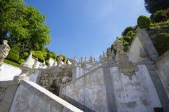 Stairs to Bom Jesus Do Monte Royalty Free Stock Photos