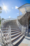 Stairs to the Cameron Gallery of the Catherine Palace Royalty Free Stock Image