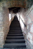 Stairs to Castle Hill, Budapest Royalty Free Stock Photo