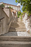 Stairs to the castle Royalty Free Stock Image