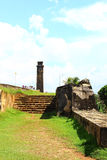 The stairs to the clock tower, Galle Fort Stock Images