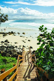 Stairs to Coolangatta Stock Images