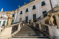 Stairs to Esterhazy Palace . Royalty Free Stock Photo