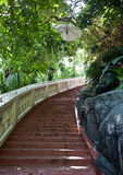 Stairs to Golden mount Royalty Free Stock Photos