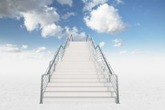 Stairs to haven Royalty Free Stock Images