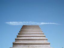 Stairs to the heaven Stock Photo