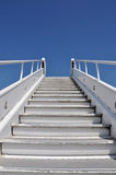 Stairs to the heaven. Up stairs to the heaven Stock Image