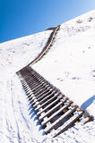 Stairs to heaven stock image