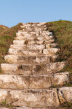 Stairs to heaven. Stone stairs provide directly to heaven Stock Image