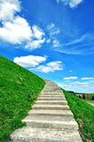 Stairs to heaven. Stairs to the heaven, vertical shot Stock Images