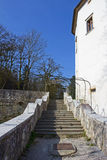 Stairs to Jable Castle Stock Photo