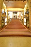 The stairs to the Kodak Theatre in Hollywood. The stairs leading to the famous Kodak Theatre in Hollywood, California.  This is a retail, dining, and Royalty Free Stock Photos