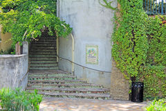 Stairs to La Vallita Royalty Free Stock Photography