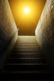 Stairs in to the light Royalty Free Stock Photo