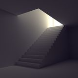 Stairs to light Royalty Free Stock Images
