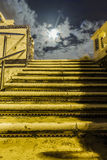 Stairs to the moon Stock Images