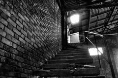 Stairs to the office Stock Image