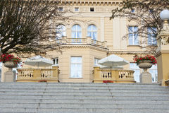 Stairs to Ostromecko palace. Royalty Free Stock Photography