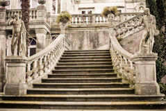 Stairs to palace Stock Images