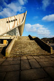 Stairs to a Palace of Concerts and Sports Royalty Free Stock Images