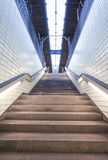 Stairs to the platform Stock Images