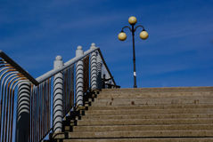 Stairs to the promenade Stock Images