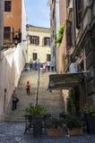 Stairs to Saint Pietro Stock Photos
