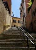 Stairs to Saint Pietro Royalty Free Stock Photos