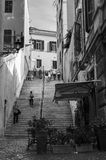 Stairs to Saint Pietro Stock Image