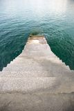 Stairs to the sea Stock Image